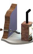 Zuluftsystem f. externen Verbrennungsluftanschluss