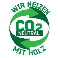 Wir heizen ökologisch mit Holz!
