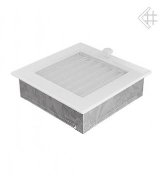 kamin l ftungsgitter 17x17cm wei mit lamellen. Black Bedroom Furniture Sets. Home Design Ideas