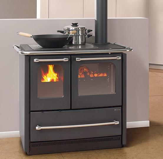 k chenofen la nordica sovrana easy nero anthrazit 6 5kw. Black Bedroom Furniture Sets. Home Design Ideas