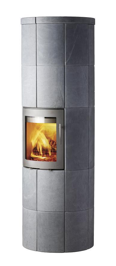kaminofen lotus m 4 schwarz o grau verschiedene ausf hrungen 6 kw. Black Bedroom Furniture Sets. Home Design Ideas