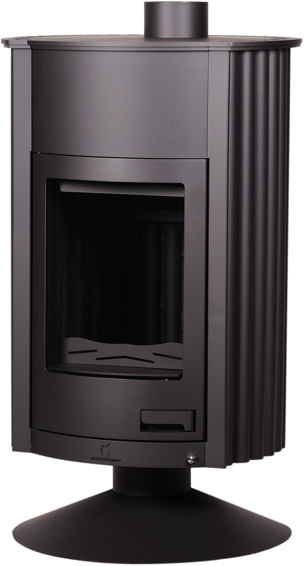warmluftofen kaminofen masterflamme grande ii black 17 kw. Black Bedroom Furniture Sets. Home Design Ideas