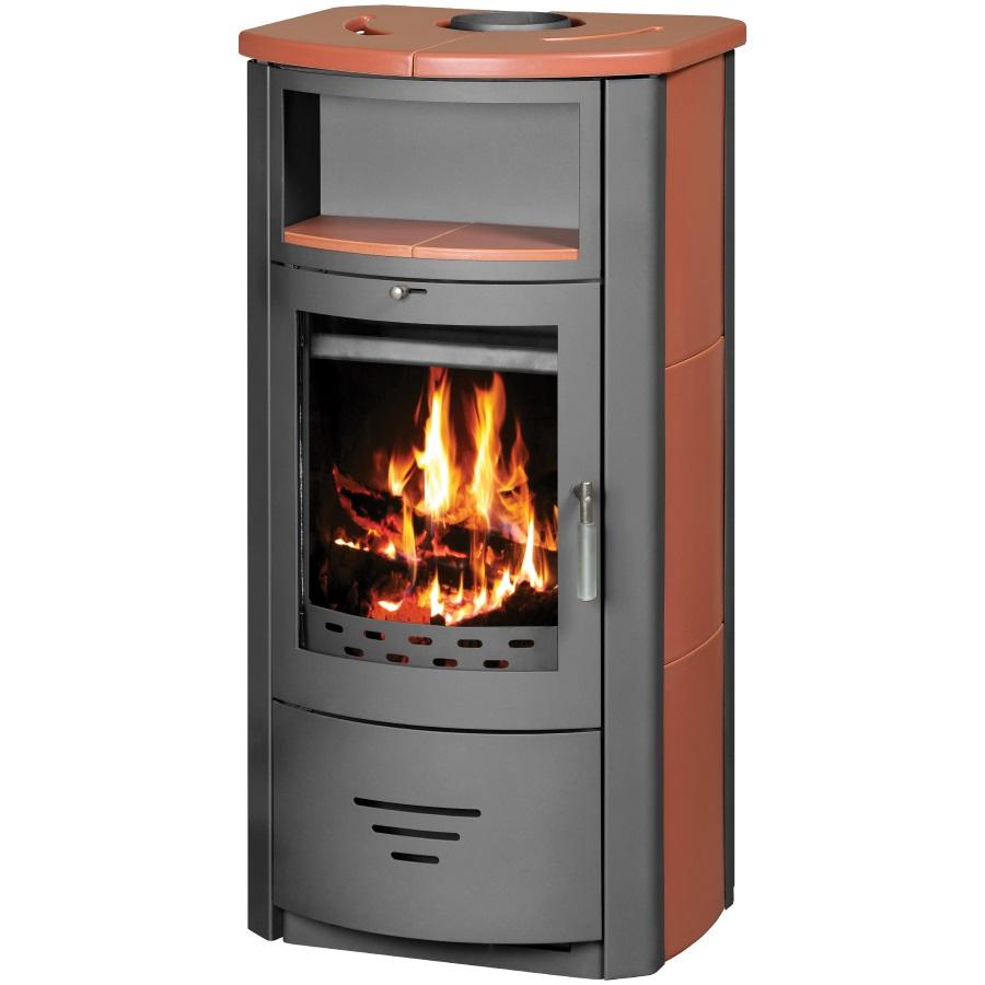 wasserf hrender kaminofen victoria marinela b mit kachelverkleidung 8 38kw. Black Bedroom Furniture Sets. Home Design Ideas