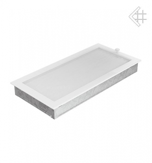 kamin l ftungsgitter 22x45cm wei mit lamellen. Black Bedroom Furniture Sets. Home Design Ideas