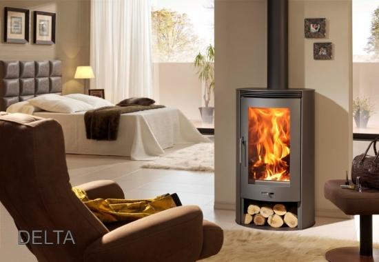kaminofen panadero delta extra hohe sichtscheibe dauerbrand ofen kamin holz ebay. Black Bedroom Furniture Sets. Home Design Ideas
