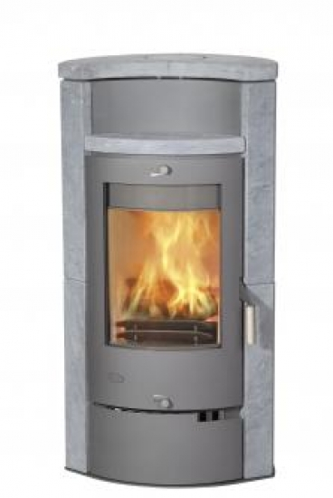 kaminofen fireplace hamburg speckstein 8 kw ebay. Black Bedroom Furniture Sets. Home Design Ideas