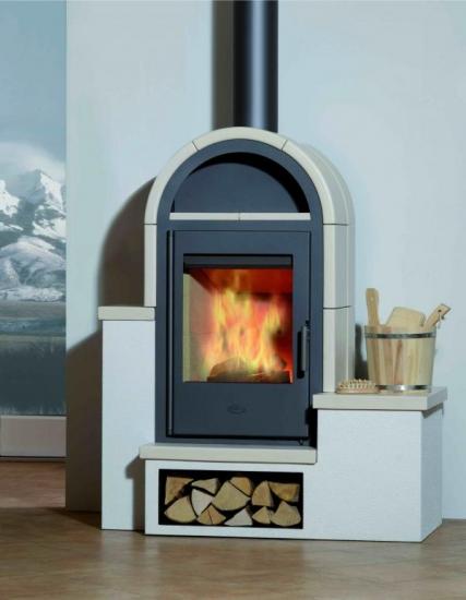 kaminofen fireplace serena keramik 7 kw ebay. Black Bedroom Furniture Sets. Home Design Ideas