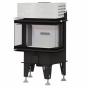 Preview: EEK A+ Panorama-Kamineinsatz BeF Therm 6C - Rauchrohr 180mm - 6 kW