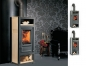 Mobile Preview: EEK A+ - Kaminofen Globe Fire LUNA II H Naturstein - 6 kW