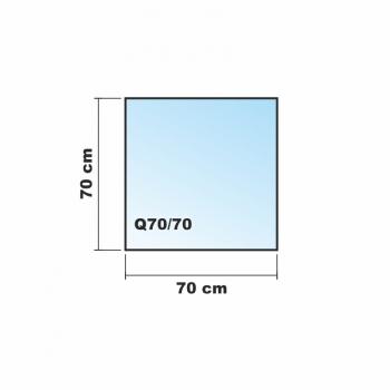 Rechteck frosty 140x70cm milchglas funkenschutzplatte for Spritzschutz milchglas