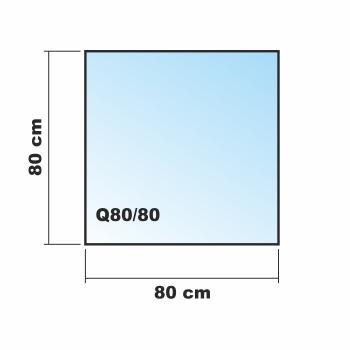 80x80cm glas k chenr ckwand spritzschutz herd fliesenspiegel glasplatte r ckwand. Black Bedroom Furniture Sets. Home Design Ideas