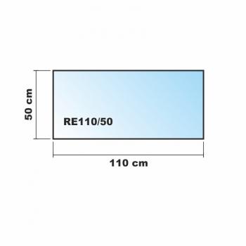 110x50cm glas schwarz glas k chenr ckwand spritzschutz herd fliesenspiegel glasplatte r ckwand. Black Bedroom Furniture Sets. Home Design Ideas