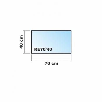 Frosty 70x40cm glas k chenr ckwand spritzschutz herd for Glasplatte fliesenspiegel