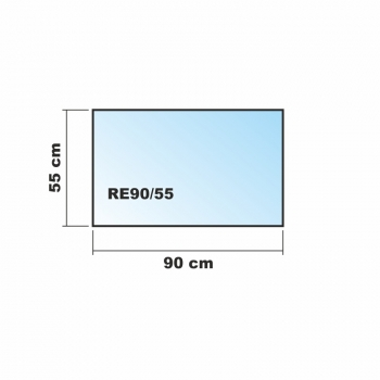 frosty 90x55cm glas k chenr ckwand spritzschutz herd fliesenspiegel glasplatte r ckwand. Black Bedroom Furniture Sets. Home Design Ideas