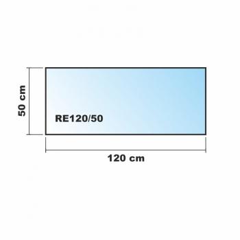 120x50cm glas k chenr ckwand spritzschutz herd fliesenspiegel glasplatte r ckwand. Black Bedroom Furniture Sets. Home Design Ideas
