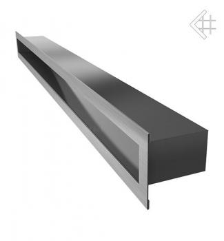 l ftungsgitter luftschlitz offen 6x80cm edelstahl geb rstet. Black Bedroom Furniture Sets. Home Design Ideas