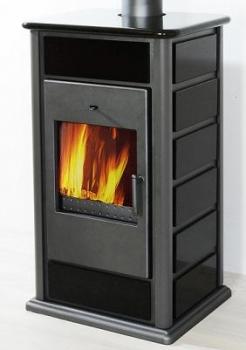 150 mm rauchrohr set rund mit drosselklappe in gussgrau. Black Bedroom Furniture Sets. Home Design Ideas