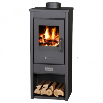 EEK A Kaminofen Victoria Deluxe SLH mit 5 kW Holz&Kohle