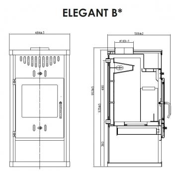 kaminofen kamineinsatz wasserf hrend schornstein rauchrohr funkenschutzplatte. Black Bedroom Furniture Sets. Home Design Ideas