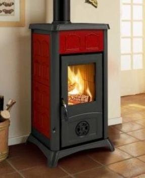 eek a la nordica kaminofen gemma elegance bordeaux 6 kw. Black Bedroom Furniture Sets. Home Design Ideas