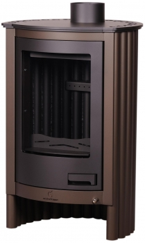 EEK A Warmluftofen Kaminofen Masterflamme Piccolo I Velvety Brown - 7kW