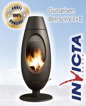 Design-Gusskaminofen INVICTA OVE - 10kW