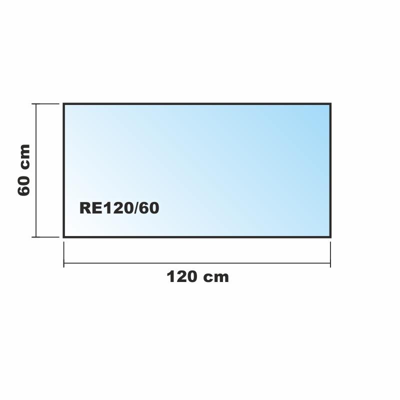120x60cm glas schwarz glas k chenr ckwand spritzschutz for Glasplatte als spritzschutz