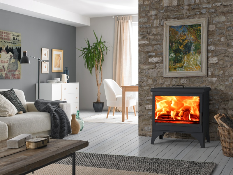 eek a kaminofen panadero boheme mit herdplatte kochstelle 9 9 kw. Black Bedroom Furniture Sets. Home Design Ideas