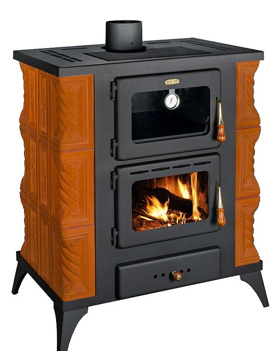 eek a kachel kaminofen mit backfach herdplatte prity fms rk hazelnut 12kw bimschv ii. Black Bedroom Furniture Sets. Home Design Ideas