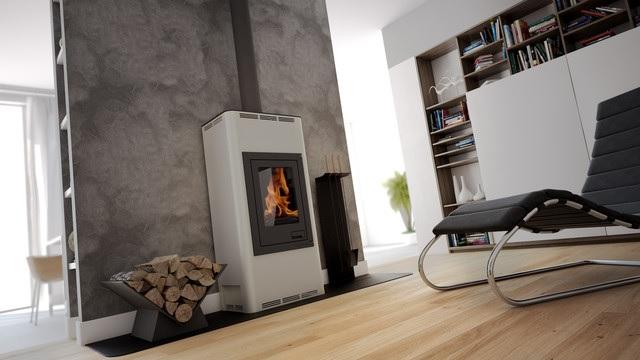 eek a wasserf hrender kaminofen aquaflam basic creme 7 kw. Black Bedroom Furniture Sets. Home Design Ideas