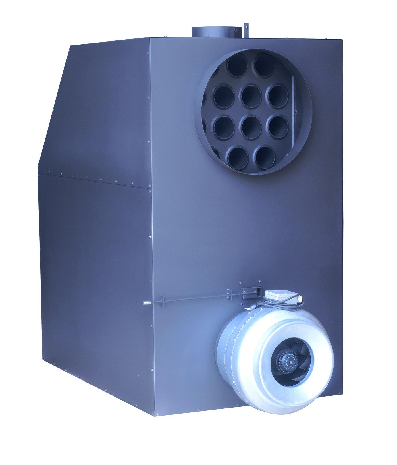 A+ Warmluftofen Hallenheizung Turbo 50 kW mit Ventilator, kanalisierbar