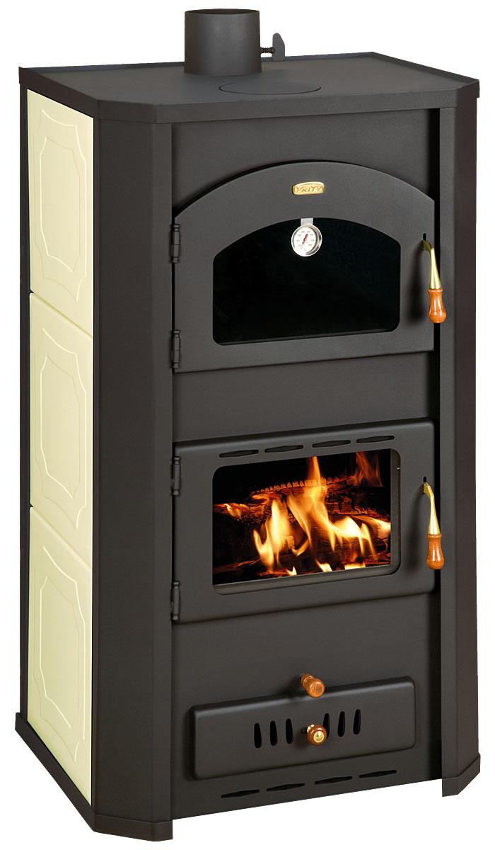 eek a wasserf hrender kaminofen mit backfach prity fgw20 creme 23 kw bimschv ii. Black Bedroom Furniture Sets. Home Design Ideas