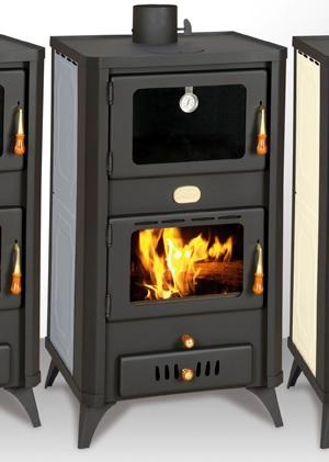 eek a wasserf hrender kaminofen mit backfach prity fg w18r graphite 21 kw. Black Bedroom Furniture Sets. Home Design Ideas