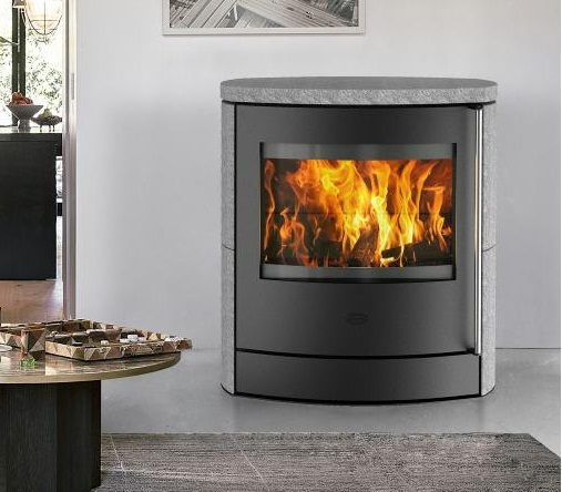 eek a kaminofen fireplace adamis speckstein 7 kw raumluftunabh. Black Bedroom Furniture Sets. Home Design Ideas