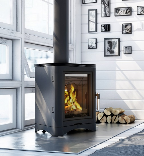 guss kaminofen kratki koza k5 mit rr 150 mm 7 kw. Black Bedroom Furniture Sets. Home Design Ideas