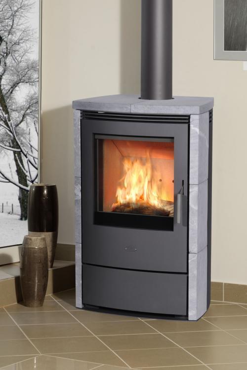 eek a automatik dauerbrandofen fireplace meltemi speckstein 7 8 kw. Black Bedroom Furniture Sets. Home Design Ideas