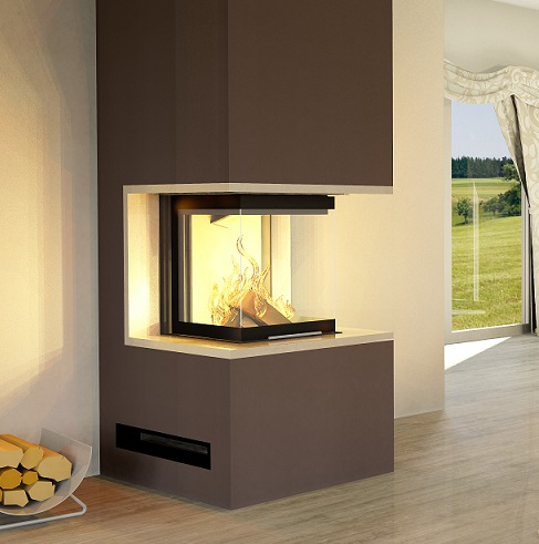 eek a 3 scheiben kaminbausatz pure mit hajduk smart 3plh. Black Bedroom Furniture Sets. Home Design Ideas