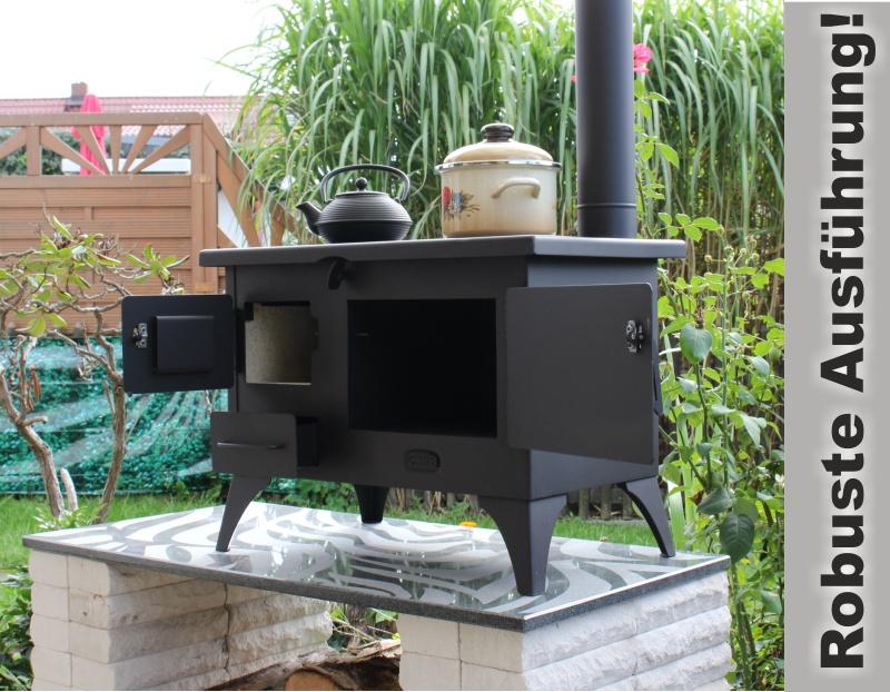 Backen Im Küchenofen : Outdoor küchenofen garten herd gartenküche mit schornstein