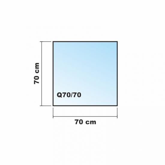 Frosty 70x70cm glas k chenr ckwand spritzschutz herd for Glas spritzschutz herd