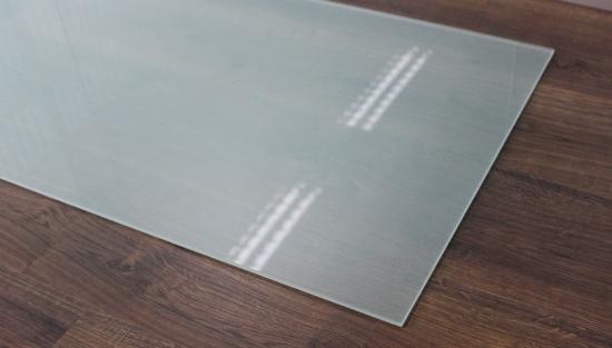 Frosty 80x55cm glas k chenr ckwand spritzschutz herd for Spritzschutz herd milchglas