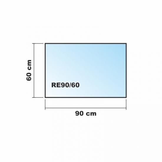 frosty 90x60cm glas k chenr ckwand spritzschutz herd fliesenspiegel glasplatte r ckwand. Black Bedroom Furniture Sets. Home Design Ideas
