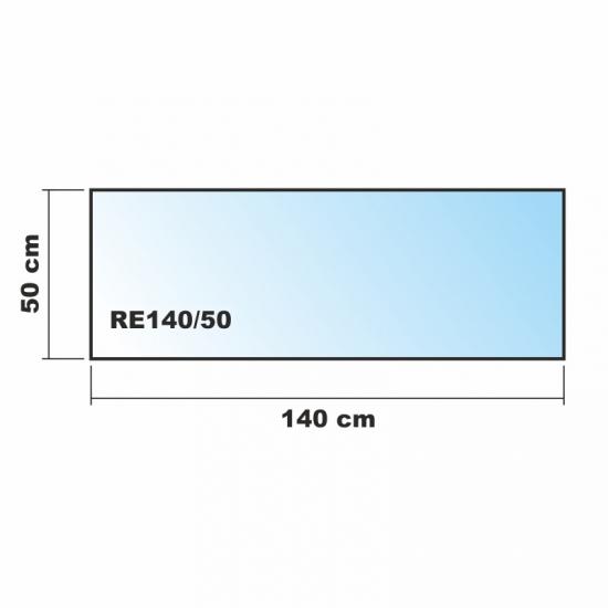 140x50cm glas k chenr ckwand spritzschutz herd for Glasplatte als fliesenspiegel