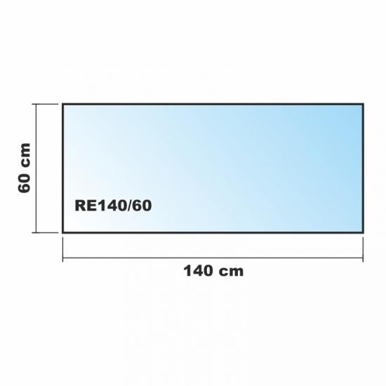 140x60cm glas k chenr ckwand spritzschutz herd for Glasplatte als spritzschutz