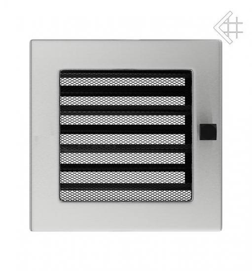 luxus l ftungsgitter 17x17cm edelstahl geb rstet mit lamellen. Black Bedroom Furniture Sets. Home Design Ideas