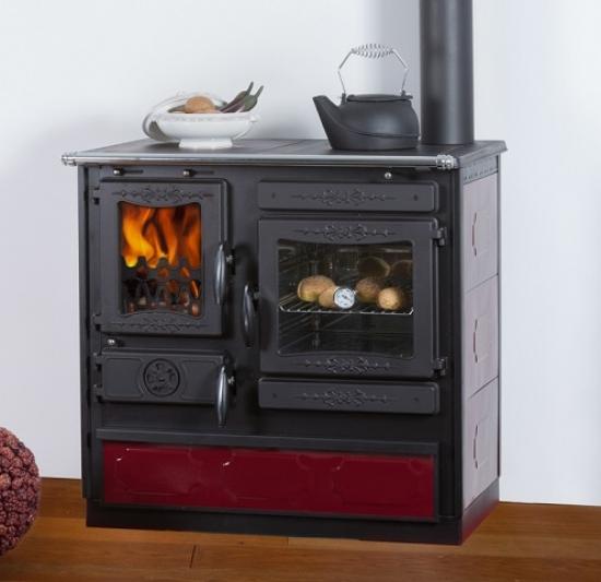 eek a dauerbrand k chenofen holzherd globe fire alhena rot anschluss rechts. Black Bedroom Furniture Sets. Home Design Ideas