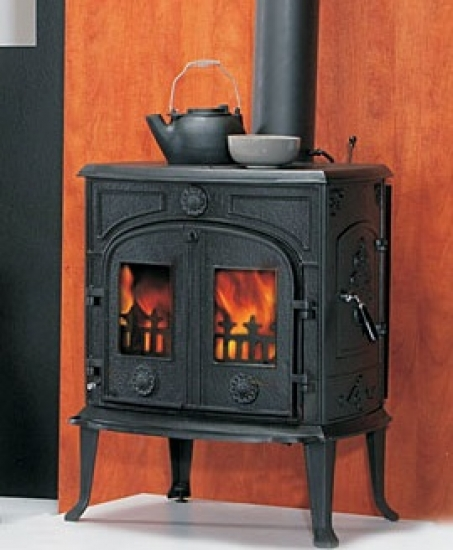 eek a kaminofen globe fire comet 8 kw ebay. Black Bedroom Furniture Sets. Home Design Ideas