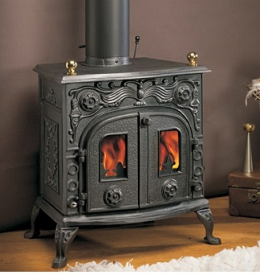 eek a gusskaminofen globe fire eros ii 6 kw ebay. Black Bedroom Furniture Sets. Home Design Ideas