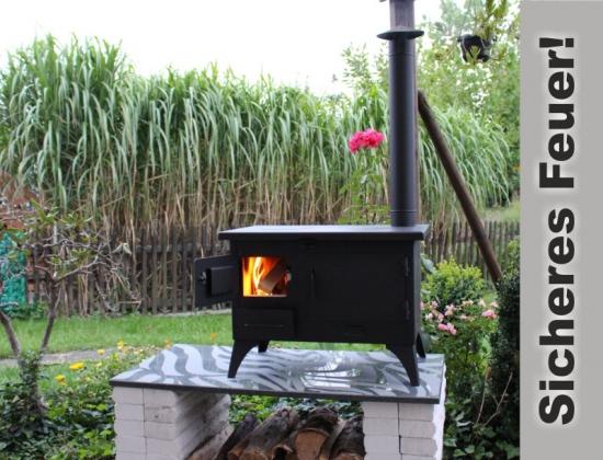 Outdoor Küchenofen : Outdoor küchenofen garten herd gartenküche schornstein außenküche