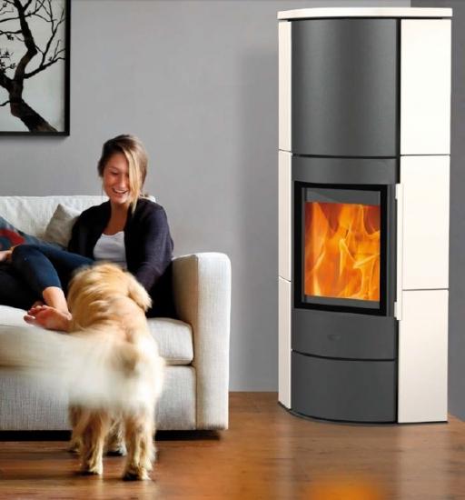 Eck Kaminöfen eek a eck kaminofen fireplace adelaide keramik in weiß