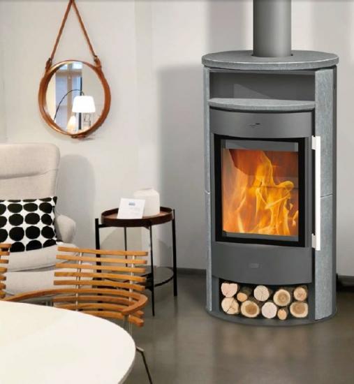 eek a kaminofen fireplace durango speckstein 6 kw. Black Bedroom Furniture Sets. Home Design Ideas